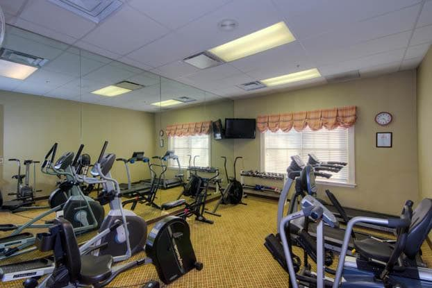 Keep fit in our state of the art gym at Aston Gardens At Sun City Center