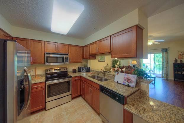 Your new kitchen has everything you need at Aston Gardens At Sun City Center