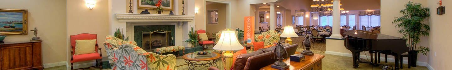 Senior living options at the senior living community in Sun City Center