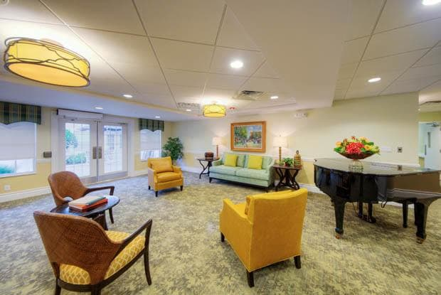 Relax with friends and family in out Grande Clubhouse at Aston Gardens At The Courtyards