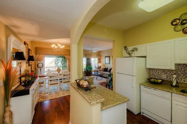 Our Venice senior living community features beautiful kitchens.