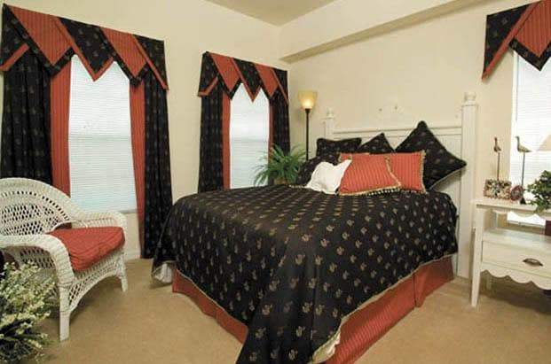 Beautiful and spacious bedrooms await you at Aston Gardens At Pelican Pointe in Venice, FL