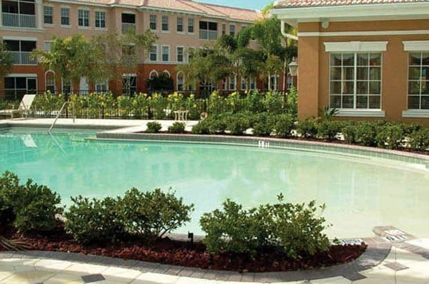Enjoy a nice swim in one of our heated pools at Aston Gardens At Pelican Pointe