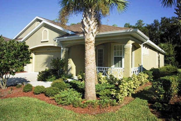 Amazing landscaping is included at Aston Gardens At Tampa Bay