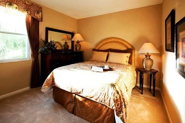 Your beautiful new master bedroom at Aston Gardens At Tampa Bay