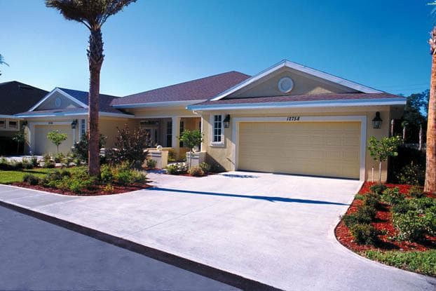 Beautiful duplexes for independent living at Aston Gardens At Tampa Bay