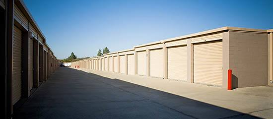 RV parking and storage at Rock Creek Self Storage