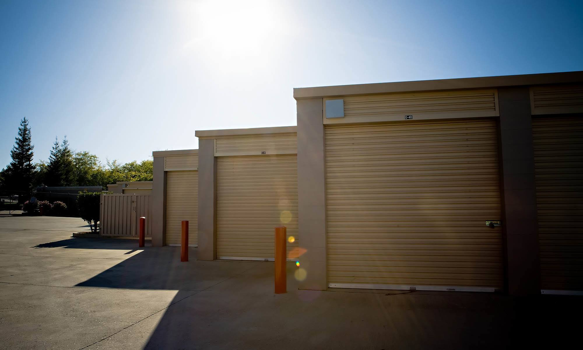 Self storage in Roseville, CA