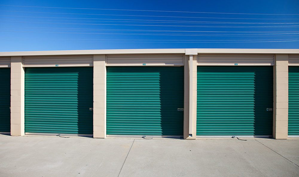Self storage units in Folsom