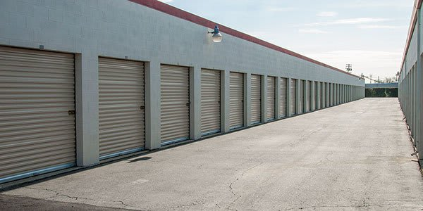 A Long Row Of Units At Freeport Self Storage