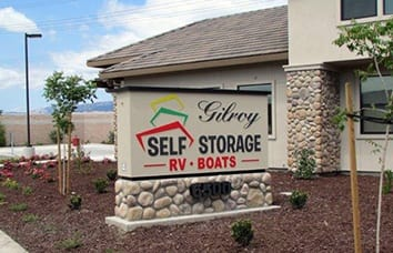 Gilroy Self Storage in California