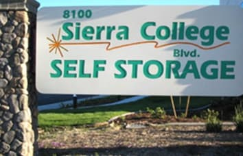 Sierra College Self Storage in Roseville California