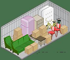 10x15 units at self storage in Sacramento
