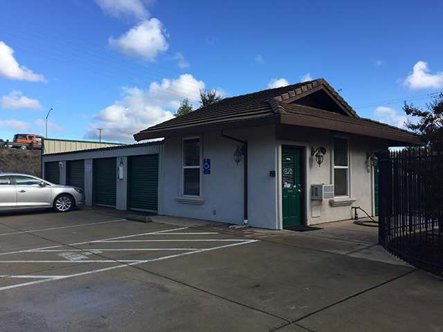Exterior Office at the Self Storage in Cameron Park