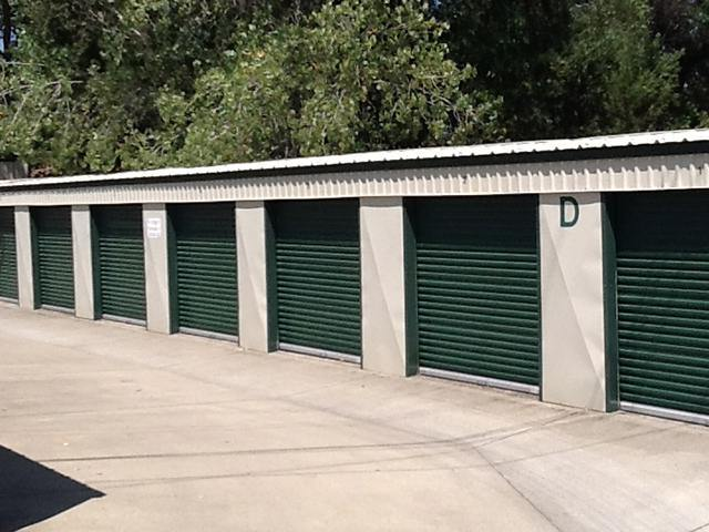 Wide Driveways at the Self Storage in Cameron Park