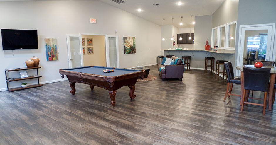 Enjoy a clubhouse at our beautiful apartments