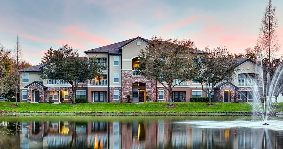 Lake at Stonecastle Apartments in Winter Park, FL