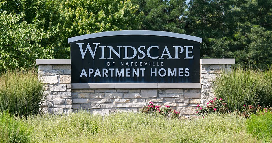 Entryway at Windscape of Naperville Apartments in Naperville, IL