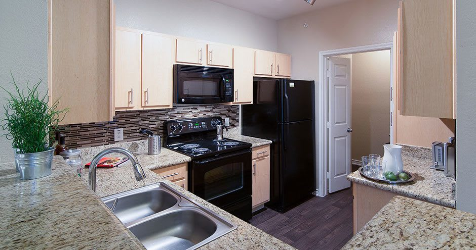 Apartments with a natrually well-lit kitchen