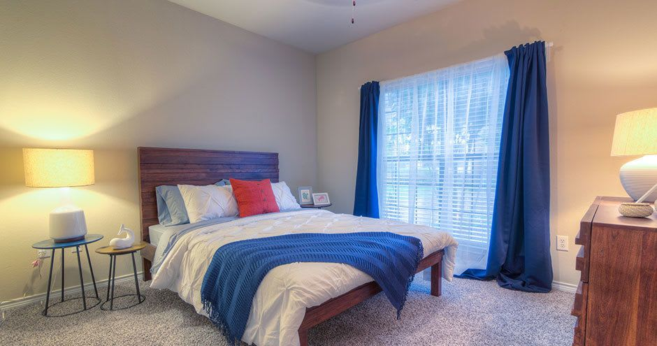 Spacious bedroom at City Parc at Keller in Fort Worth, TX
