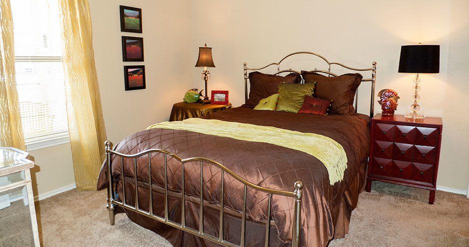Bedroom at Republic Woodlake in San Antonio, TX