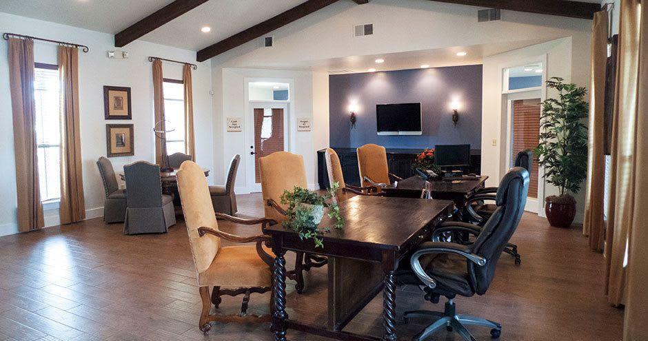 Business center at Republic Woodlake in San Antonio, TX