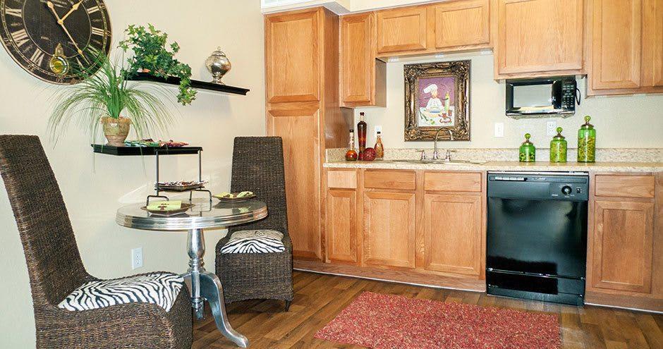 Kitchen at Republic Woodlake in San Antonio, TX
