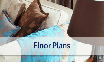 Spacious floor plans at the apartments for rent in Rock Hill