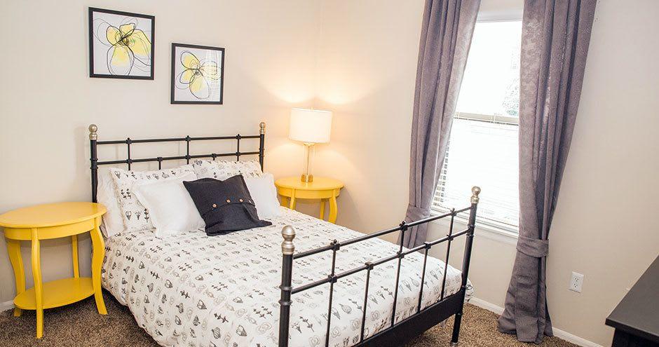 Bedroom at Carmel Landing in Carmel, IN