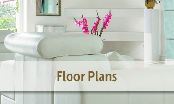 Spacious floor plans at the apartments for rent in Carmel