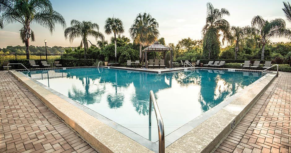 Swimming pool at Promenade at Uptown in Altamonte Springs, FL