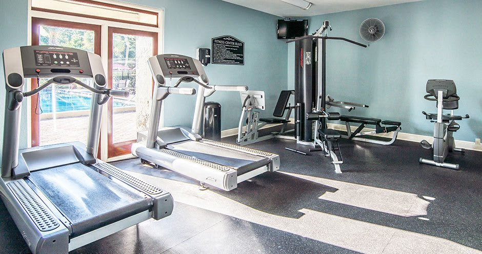 Beautiful fitness center at apartments in Altamonte Springs, FL