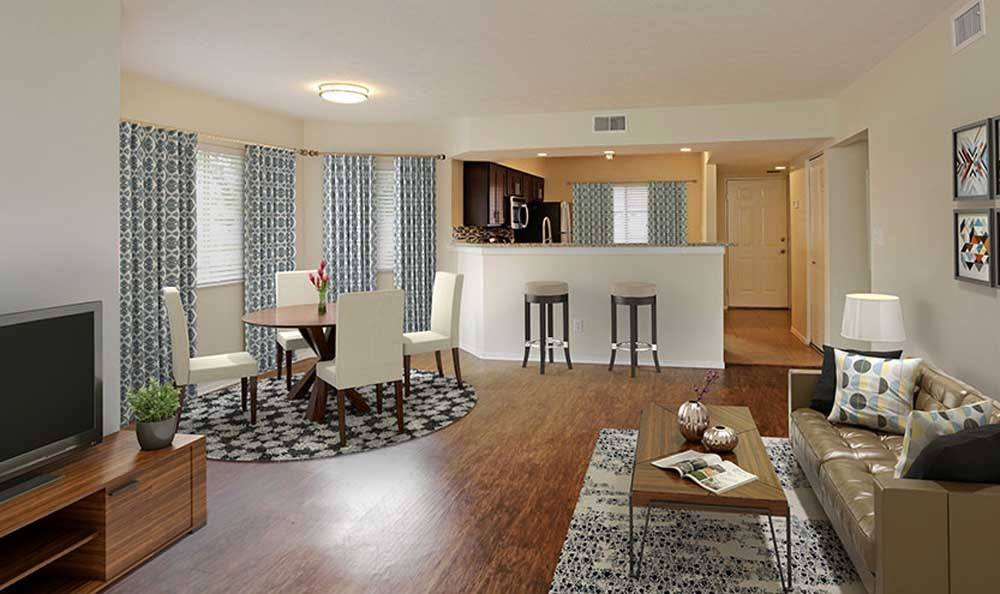 Pavilions at Deer Chase offers a luxury living room in Deerfield Beach, Florida