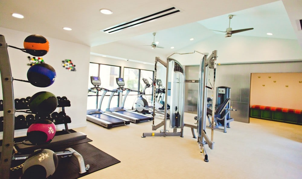 Fitness center at The Ridge.