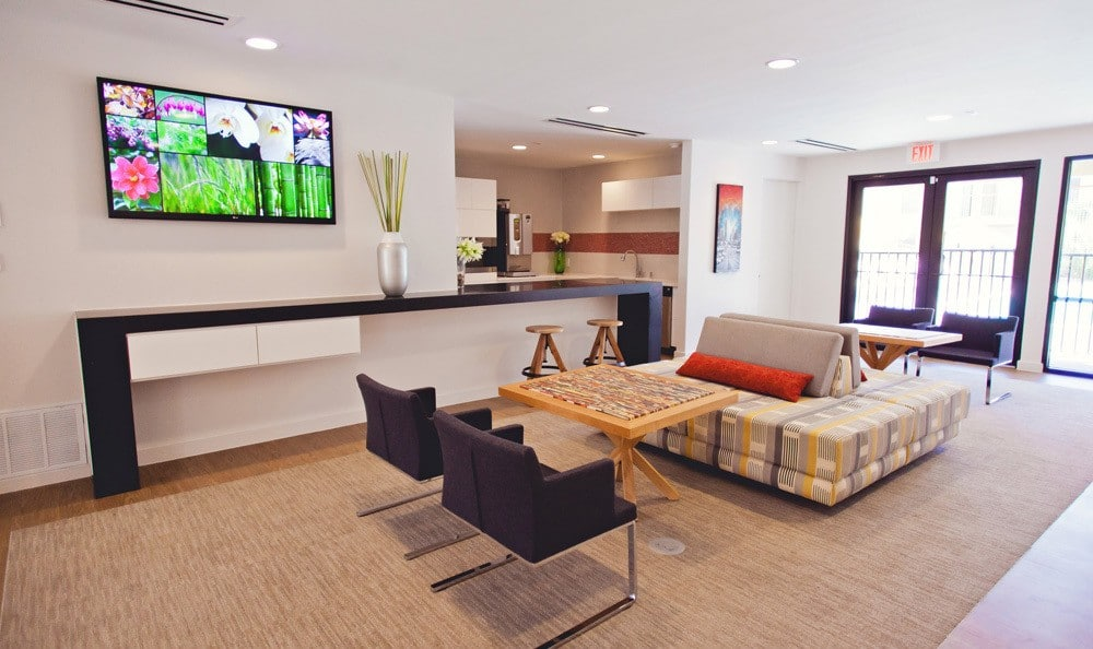 Open living room at The Ridge.