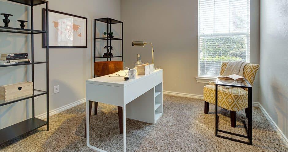 Enjoy apartments with a spacious bedroom at Bella Vida at Coyote Ridge