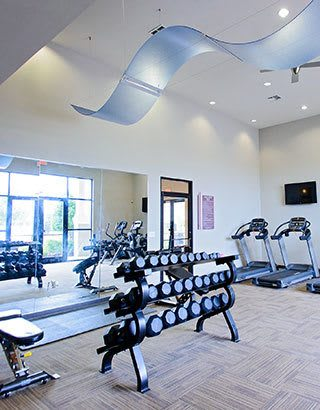 Fitness Center at apartments in Baton Rouge, LA