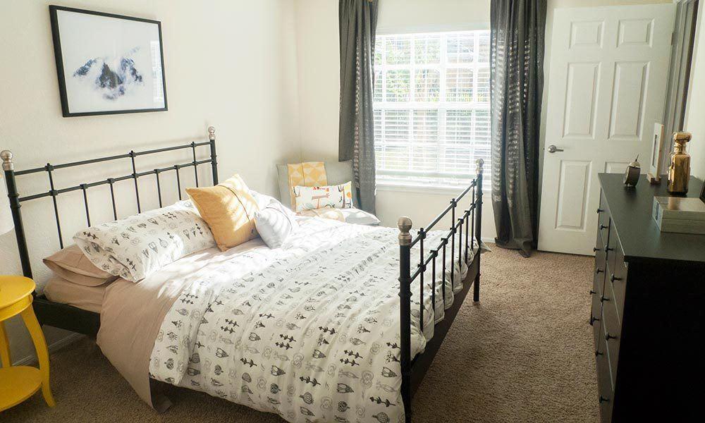 Spacious bedroom at Promenade at Aloma in Oviedo, Florida