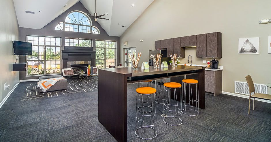 Beautiful apartments with custom cabinetry in Westmont, IL
