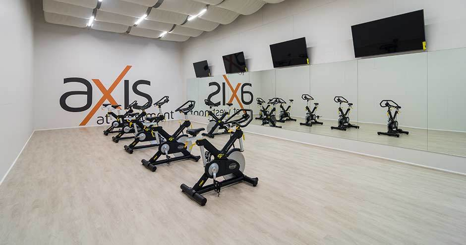 Axis at Westmont offers a luxury fitness center in Westmont, IL