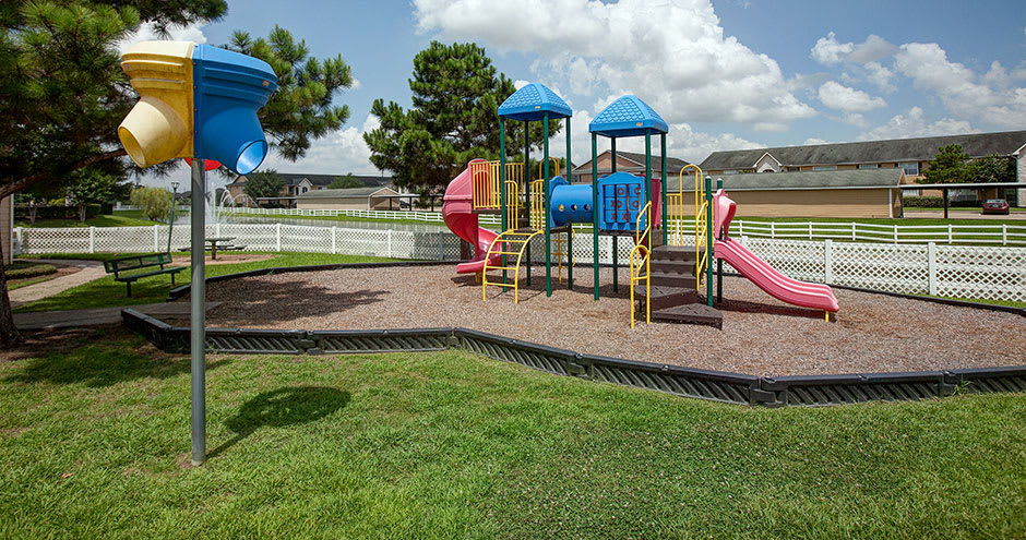 Playground at Willow Lake Apartments in Katy, TX