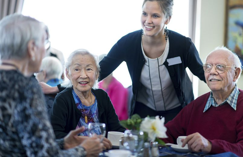 Learn more about dining at our senior living community in Boise, Idaho