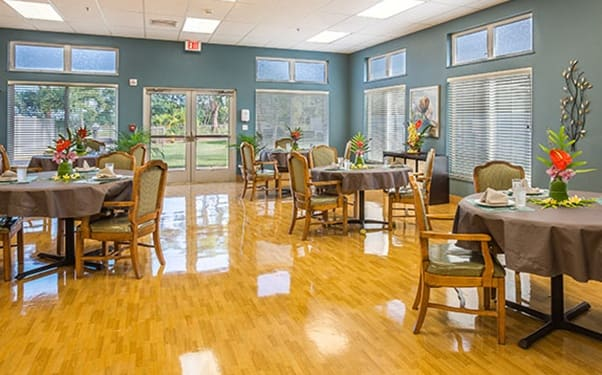 We have plenty of warm and cozy common areas at Kauai Care Center in Waimea, HI.