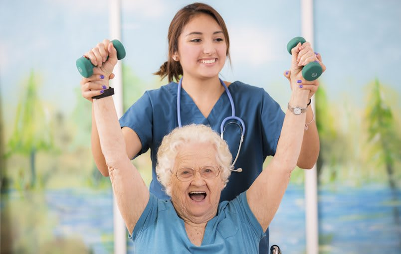 Learn more about our rehabilitation therapy services at Regency Canyon Lakes Rehabilitation & Nursing Center in Kennewick, Washington.