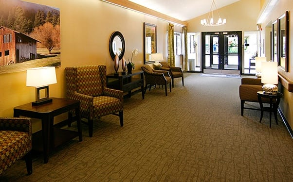 Regency North Bend Rehabilitation and Nursing Center in North Bend, WA, has plenty of comfortable places for your loved one to relax.
