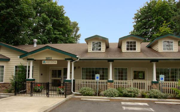 Exterior of our senior living community in Olympia, WA