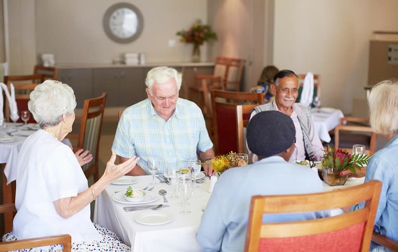 Learn more about dining options at Regency at the Park in College Place, WA.