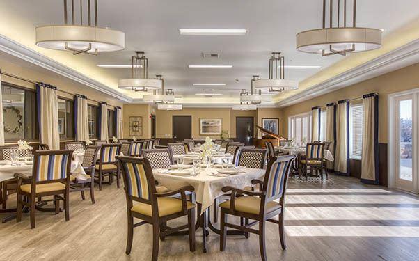 Dining room at Regency Wenatchee Rehabilitation and Nursing Center in Wenatchee, WA