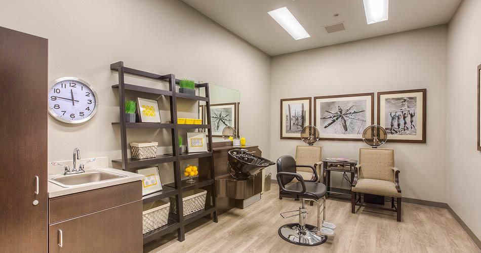 Salon at Regency Wenatchee Rehabilitation and Nursing Center in Wenatchee, WA