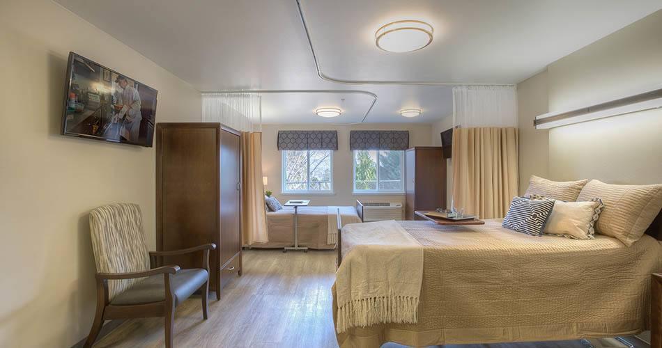 Shared room at Regency Wenatchee Rehabilitation and Nursing Center in Wenatchee, WA